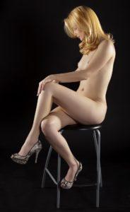 Nude model stool